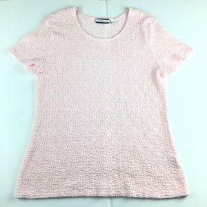 Croft & Barrow Textured Tee Shirt